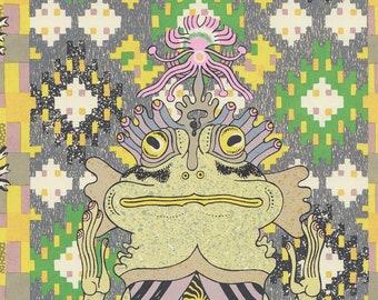 frog queen silkscreen