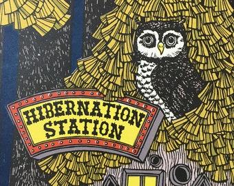 hibernation station silkscreen