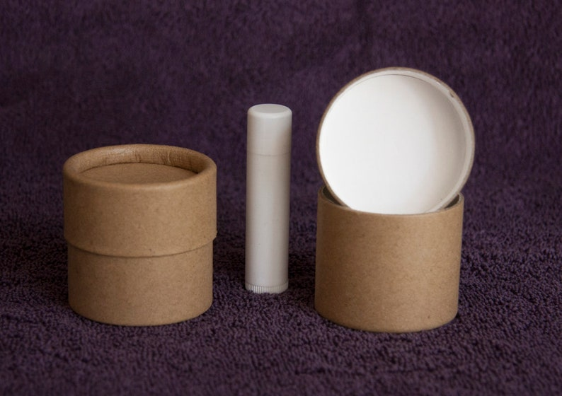 Twelve 2 ounce / 60 ml Kraft Paper Jars - Lightweight, Eco-friendly  Cardboard Cosmetic Containers 2 oz 60 g