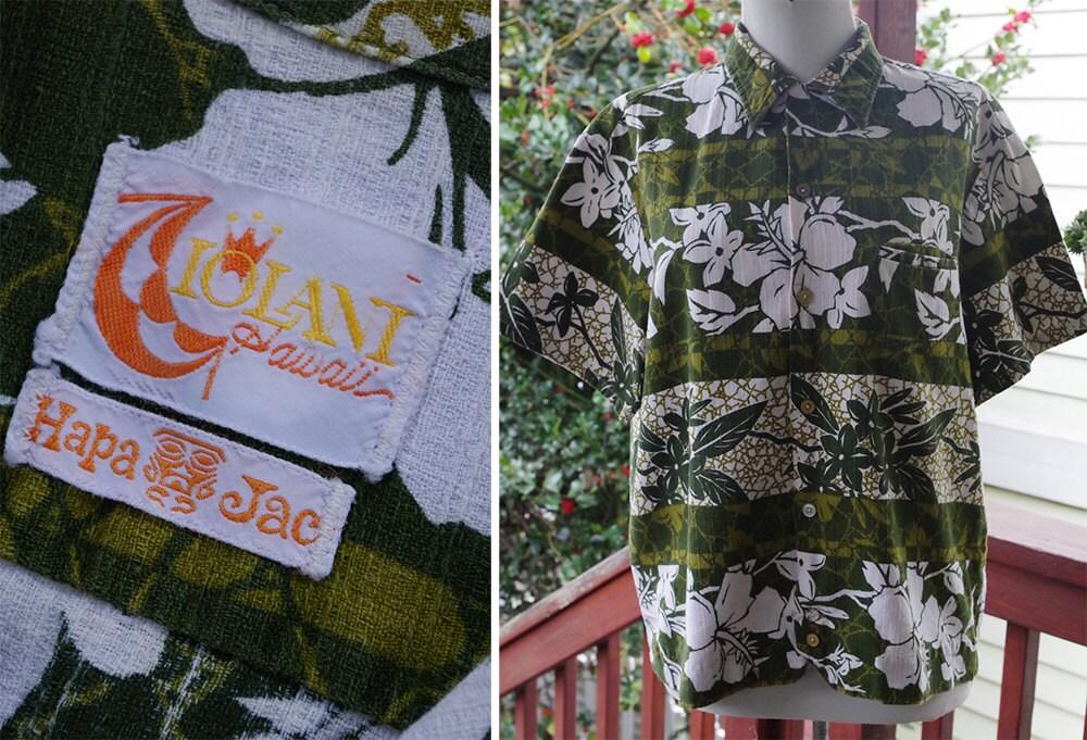 1960s – 70s Men's Ties | Skinny Ties, Slim Ties Maui Wowie 1960s Mens Vintage Dark Olive Green Tropican Hawaiian Tiki Barkcloth Shirt  Size Medium By Iolani Hapa Jac $39.99 AT vintagedancer.com