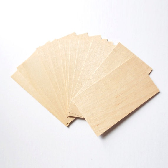 blank wood cards wood cards wood tags wood business cards etsy