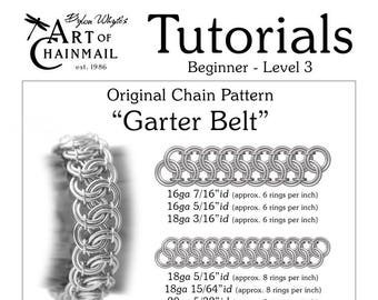 Garter Belt/Chainmail/Tutorials/Dylon Whyte/Art of Chain Mail/Chainmaille (Craft Books, How to Books, DIY Crafts, DIY Books, Instructions)