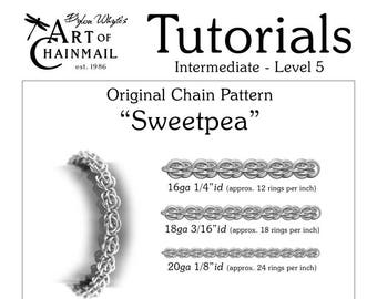 rings of saturn chainmail tutorials dylon whyte art of chain etsy