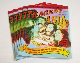 Graphic Novel/Tragedy of the Asia by Whytes (Storybook, History Book, Graphic Novel, Magazines, Magazines Print, Fiction, Folklore, Canada)