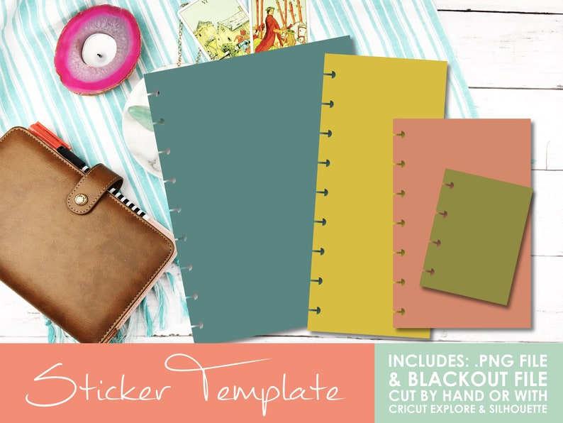 DIY Disc Bound Planner Page Templates  Classic Page Classic image 0
