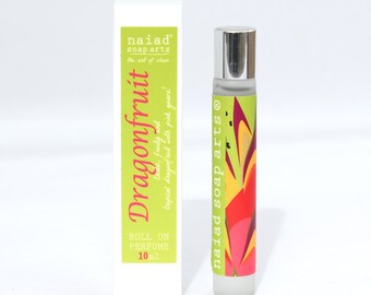 NEW SCENT - Dragonfruit Roll On Perfume - vegan friendly scent in coconut oil - 95% natural