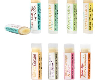 Natural Vegan Lip Balm
