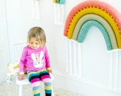 Extra Large Rainbow Wall Hanging, Textile Wall Hanging
