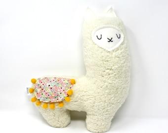 Llama Plush, Stuffed Llama, Plush Llama, Llama Stuffie, New Baby Gift