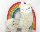 Super Soft Stuffed Llama, Llama Stuffie, Plush Llama, Llama Toy, Baby Girl Gift
