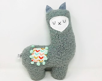 Stuffed Llama, Llama Stuffie, Plush Llama, Llama Toy, New Baby Gift