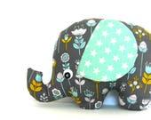 Plush Elephant, Elephant Softie, Elephant Stuffie, Baby Girl Gift