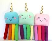 Octocorn, Plush Octopus Baby Toy, Unicorn Softie, Octopus Softie, Kids Gift, New Baby Gift, Rainbow Nursery Decor, Heirloom ToyToy