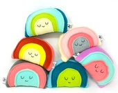 Mini Rainbow Plush, Rainbow Toy, Unique Gift for Kids