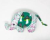Woodland Plush Elephant, Elephant Softie, Elephant Stuffie, Baby Gift for Girl or Boy