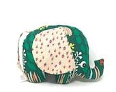 Baby Girl Gift, Stuffed Elephant, Elephant Softie, Handmade Stuffed Toy - Plush Elephant Toy