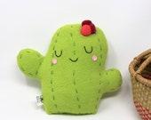 Cute Plush Cactus - Cactus Stuffie - Cactus Lover Gift - Cactus Plushie
