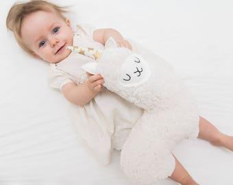 Llamacorn- Stuffed Llama, Plush Llama, Llama Stuffie, New Baby Gift