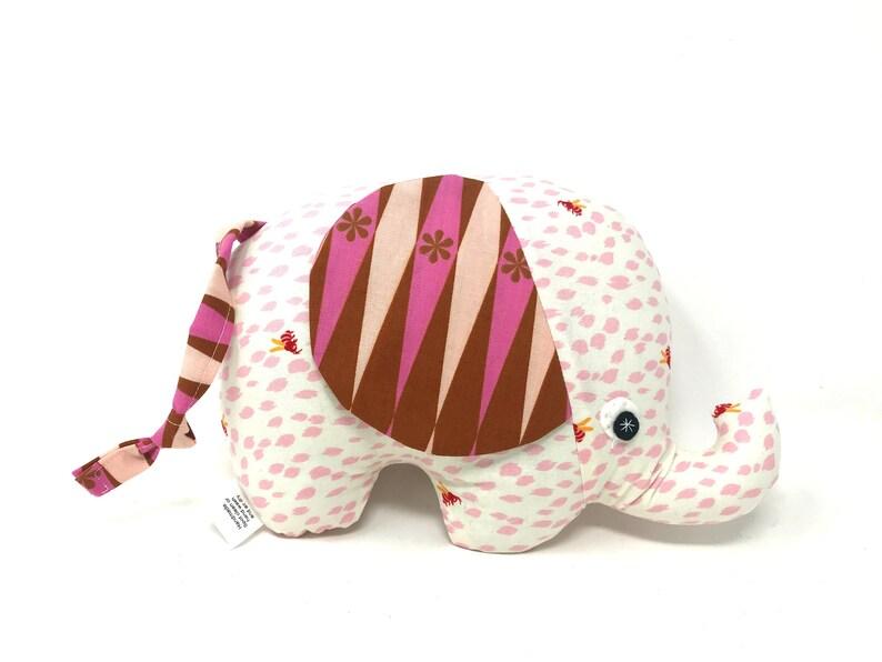 Baby Girl Gift Stuffed Elephant Elephant Softie Handmade image 0