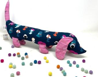 Stuffed Wiener Dog, Plush Dachshund, Weiner Dog Stuffie, Unique Baby Gift