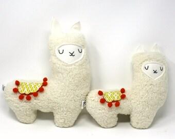 Mama and Baby Llama Plush, Stuffed Llama, Plush Llama, Llama Stuffie, New Baby Gift