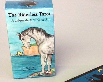 The Riderless Tarot - Unique Deck of Horse art by Nakisha