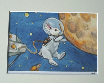 LWR in Space- Limited Edition Fine Art Print
