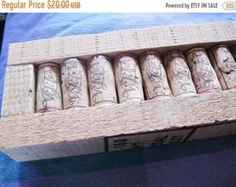 Wine cork art | Etsy