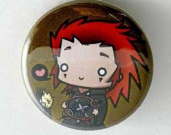 Kingdom Hearts - Axel Button