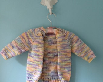 Vintage Hand Knit Baby Sweater