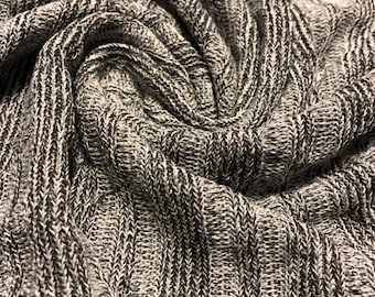 163e46778df Hacci Sweater Knit Fabric 1-3/4 Yards