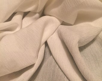 Crinkle  Rayon Fabric 2-1/2 Yards