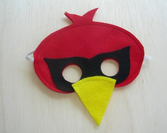 Child size Cardinal Mask