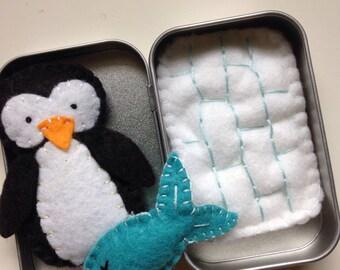 Tiny Toys for Travel - Penguin