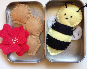 Tiny Toys for Travel - Busy Bee