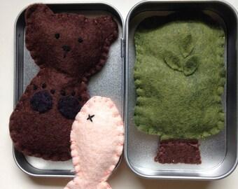 Tiny Toys for Travel - Bear