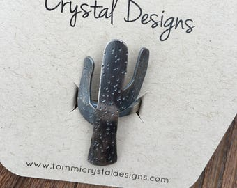 Sterling Silver Cactus Ring