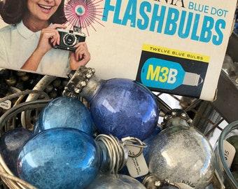 Hand Soldered Vintage Camera Flash Bulb Charm