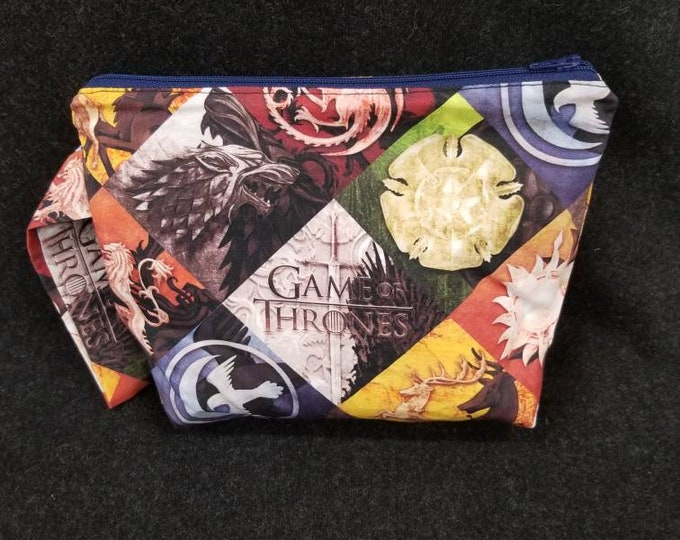 Featured listing image: Game of Thrones - Catch All Pouch cosmetics organization travel bag