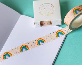 Eco Friendly Tape Eco Tape Pink Galaxy Washi Tape Cute Stationery Kawaii Stationery Paper Tape Bullet Journal Space Stationery