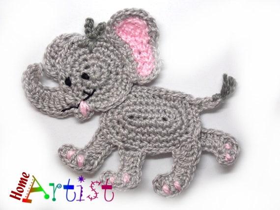 Tiny luck elephant - amigurumi pattern | Amigurumi elephant ... | 428x570