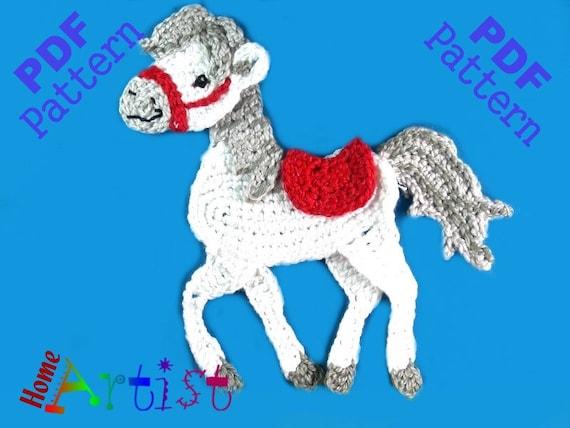 Horse Crochet Pattern Etsy