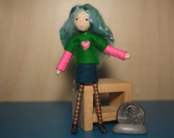Little Felt Friend doll
