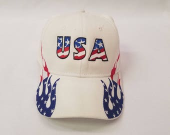 USA hat, patriotic hat, flag hat, american flag hat, Dad hat, dad gift, dad birthday gift, Father's day gift, dad cap, fathers day hat