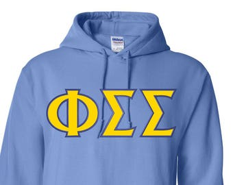Phi Sigma Sigma, Phi Sigma Sigma shirt, Phi Sigma Sigma letters, Phi Sig,  Phi Sigma Sigma Gift, Phi Sigma Sigma Apparel, greek apparel