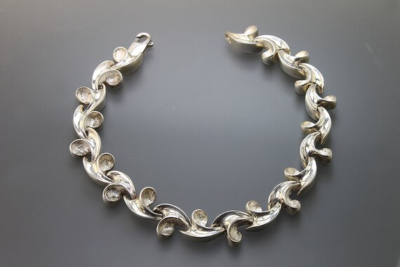 Sterling Silver Waves Bracelet by Cavallo Fine Jewelry