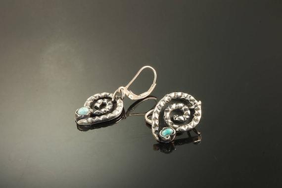 Vintage! Sterling Silver MATL Style Earrings