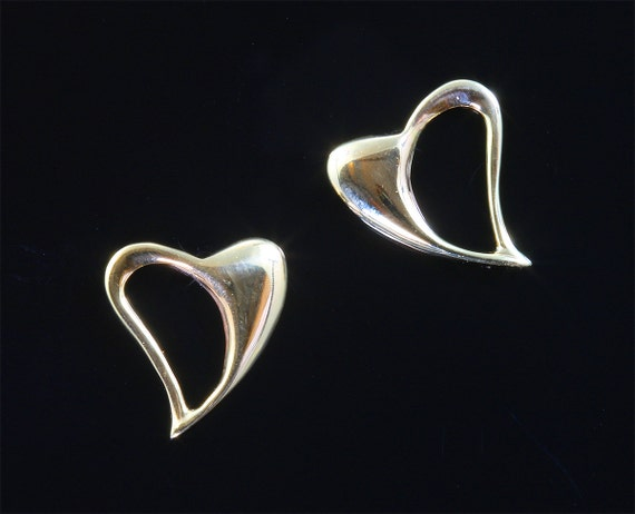 14K Gold Heart Earrings by Cavallo Fine Jewelry