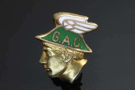 14K Gold Dieges & Clust G.A.C. WW1 lapel Pin