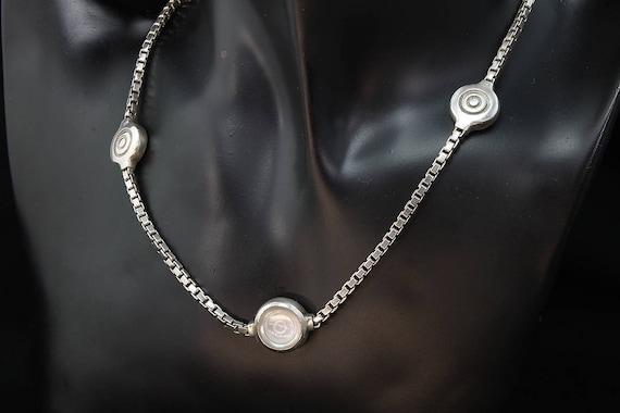 Vintage! Sterling Silver Lisa Jenks Necklace